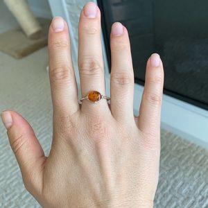 Natural Amber Ring